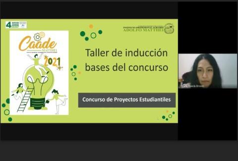 Home Taller Inducción Bases Concurso Proyectos Estudiantiles